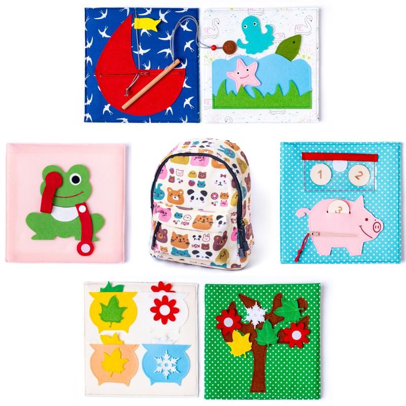 Rucsac Animale&natură Toddler cadouri pentru copii de 1 an